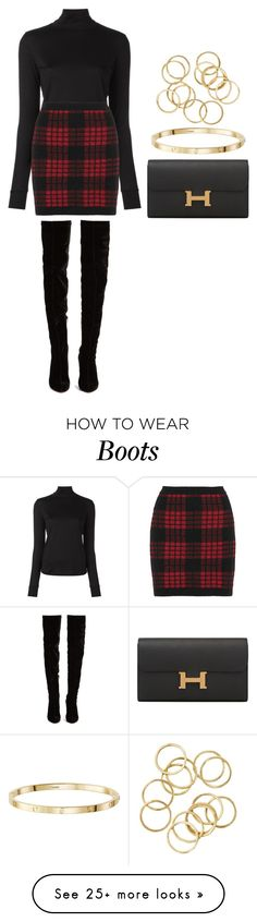 """Sin título #14225"" by vany-alvarado on Polyvore featuring Christian Louboutin, 08 Sircus, Hermès and Balmain"