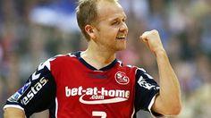 Anders Eggert - left wing on the Danish National handball team