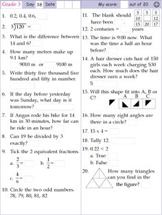 math worksheet : 1000 images about mental math on pinterest  mental maths grade  : Mental Math Worksheets Grade 6