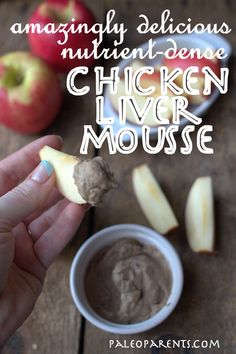Chicken Liver Mousse by @Stacy of Paleo Parents