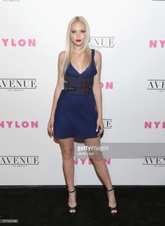 Jordyn Jones attends NYLON's Annual Young Hollywood May Issue Event With Cover Star Rowan Blanchard at Avenue on May 2, 2017 in Los Angeles, California.