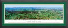 Gleneagles Golf Course Aerial Panorama $199.95