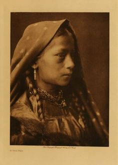 American Indians : A Taos Maid.