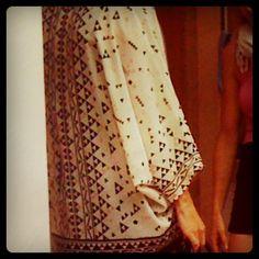 Blouse spotted in Nolita September 2012 http://www.patternhuntress.com/