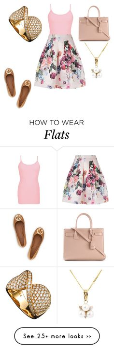 """Untitled #19096"" by edasn12 on Polyvore featuring BKE core, Ted Baker, Yves Saint Laurent, A B Davis and Tory Burch"