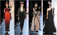 Courtesan Macabre - Gothic Fashion, Gothic Style: Jean Paul Gaultiers Punk Can-Can Couture