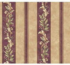 Decorate By Color BC1581695 Yellow Pastel Tara Stripe Wallpaper