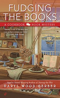 Fudging the Books (A Cookbook Nook Mystery) by Daryl Wood Gerber http://www.amazon.com/dp/0425279405/ref=cm_sw_r_pi_dp_hbxevb0JG41WZ