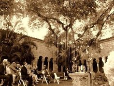 The Spanish Monastery - Miami North Beach. Where our wedding ceremony will be performed, October 21st...eeekkk!