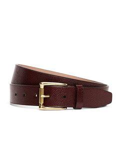 Football Leather Belt
