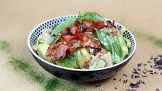 Foto: Tone Rieber-Mohn / NRK Pasta Med Bacon, Potato Salad, Tapas, Ethnic Recipes, Food, Essen, Meals, Yemek, Eten