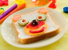 Meriendas originales: 10 sandwiches divertidos para sorprender - Recetín