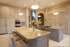 The cabinetry is awesome! Loving the muted palette!  I want this!!