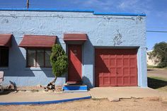 "Route 66 - Blue Swallow Motel, Tucumcari, New Mexico. ""The Fine Art Photography of Frank Romeo."""