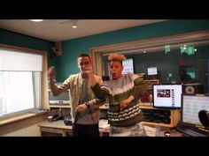 Liam Payne and Gemma Cairney dance to Gangnam Style
