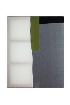 Palette 011, 130 x 162 x 2.7cm, fabric on canvas, 2014© Yunji Jang