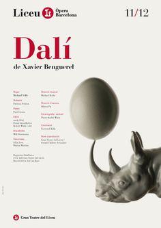 Dalí. Liceu Temporada 2011/12 - Estudio Pep Carrió