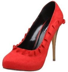 The perfect red shoes for hitting the town on valentine's day! http://thestir.cafemom.com/beauty_style/103753/in_honor_of_valentines_day?utm_medium=sm&utm_source=pinterest&utm_content=thestir