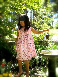 Goosegirl sews: Sweet Dress with Candy Shop Pocket Tutorial