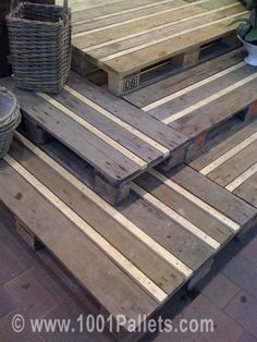 Pallet flooring (maybe decking???)