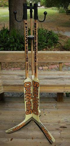 Buffalo Sabres Goalie Ice Hockey Stick Coat Hat Rack