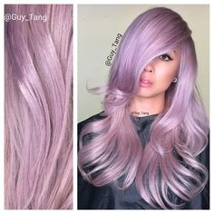 Lavender Blonde by Guy Tang, an ahh-mazing master colorist! #hotonbeauty fb.com/hotbeautymagazine