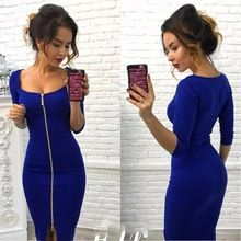 0965ef1cfc5 2018 New Fashion Women Casual Knitting Bodycon Sexy Club Dress. Get it for  FREE!