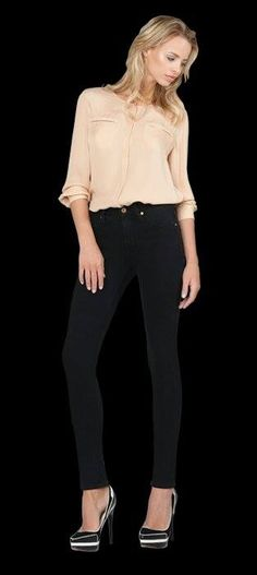 High waisted denim James Jeans