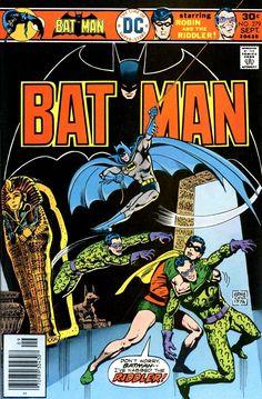 Batman #279 cover by Ernie Chua