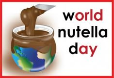 The Motherload of Nutella Recipes. World Nutella Day 5th of Feb.