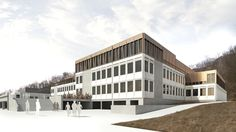 Wettbewerb Sanierung und Erweiterung Akademisches Gymnasium Salzburg| Ederer + Haghirian Architekten