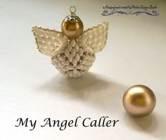 My Angel Caller ( PDF Beading tutorial in Italian or in English)