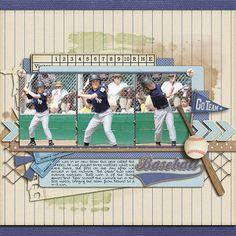 the hitter - Scrapbook.com