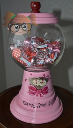 Gimme Some Sugar Valentine Candy Dish by KrissCreativeCrafts, $25.00