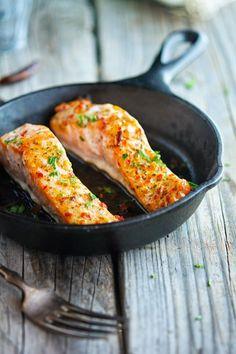 Thai Sweet Chili Glazed Salmon by theironyou #Salmon #Thai #Chili