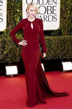 Golden Globe Awards 2013 - Naomi Watts en Zac Posen