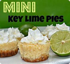 Lou  Lou  girls : Mini Key Lime Pies