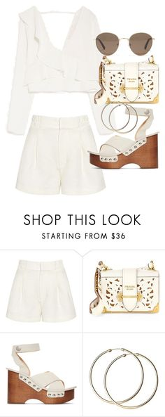 """Untitled #21365"" by florencia95 ❤ liked on Polyvore featuring Apiece Apart, Prada, rag & bone and Madewell"