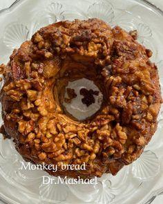 """د.مشاعل الصقعبي's Instagram post: """"مونكي بريد Monkey bread  حاولت مع صديقتي نلقى التسمية الحقيقة للإسم لكن كل منصة لها رأي 🙃. للي حابب يبحث يكتب Monkey bread وسبب التسمية.…"""" Grains, Rice, Cooking, Food, Meal, Kochen, Essen, Hoods, Meals"""