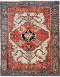 Schuler Auktionen Zürich     Karaja, NW-Iran, um 1880 300x375 cm (ft. 9.9x12.4).