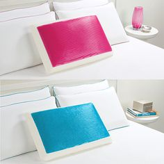 Comfort pillows! No turning to find the 'cool' side. WANT!!!