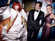 Florence Welch, Colin Firth, and Stella McCartney in 2011