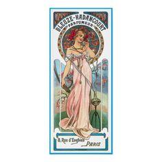 Bleuze-Hadancourt Mucha perfume advertisement