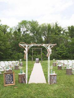 Beautiful Farm Wedding - Entertaining expert home & lifestyle blogger