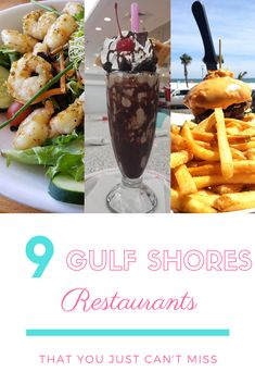 When you head to the Alabama Gulf Coast and just can't decide where to eat while you are exploring Gulf Shores and Orange beach, make sure you have these restaurants at the very top of your list! Cruise Vacation, Vacation Trips, Vacation Spots, Orange Beach Alabama, Sweet Home Alabama, Gulf Shores Restaurants, Travel Destinations, Travel Tips, Gulf Shores Alabama