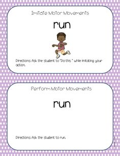 Action Words (Verb) Task Cards for Students with Autism by Autism Classroom. http://www.teacherspayteachers.com/Product/Action-WordsVerb-Task-Cards-for-Students-with-Autism-1201299