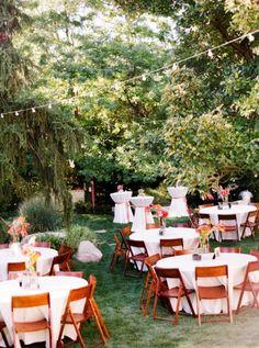 Backyard Utah Wedding by Green Apple Photography | Style Me Pretty