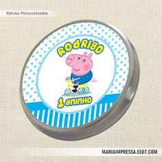George Pig * Rótulo Personalizado
