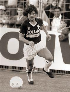 Didier Six (FC Metz) Fc Metz, Football, Running, Sports, Soccer, Hs Sports, Keep Running, Why I Run, Jogging
