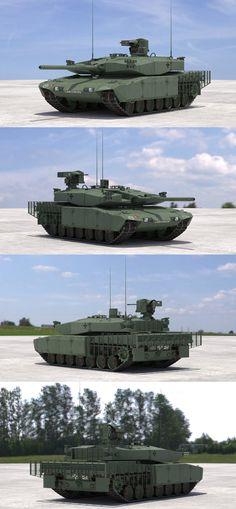 Leopard 2 MBT Revolution(Green NATO)